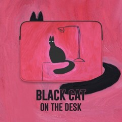 Black Cat on the Desk (11/13/15형)