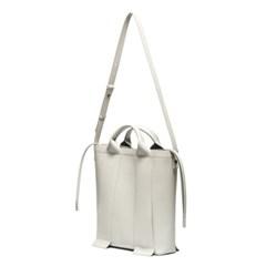 W.strap BAG_L light grey 와이드 스트랩백