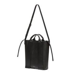 W.strap BAG_L black 와이드 스트랩백