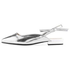 SPUR[스퍼] 슬링백 MS9050 Tie up slingback 실버