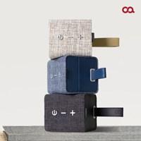 오아 스퀘어린넨 고음질 휴대용 블루투스 스피커 OA-SP016