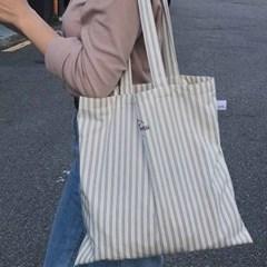 stripe blue bag