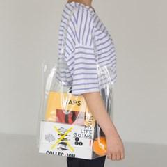 lettering point pvc bag