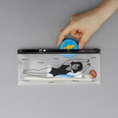CLEAR POUCH_LONG VER.5 2종