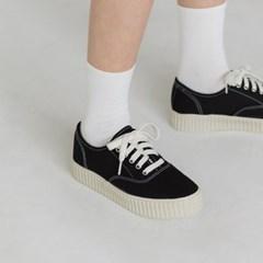 solid platform sneakers
