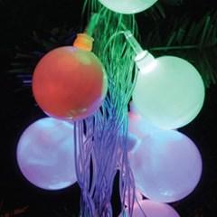 LED 30P 40Φ볼 투명선 (백색,웜,칼라)