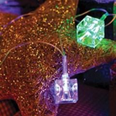 LED 32P 선물 이색투명선 (칼라)-3m