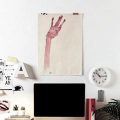 패브릭 천 포스터 명화 그림 액자 에곤 쉴레 29