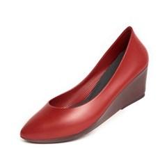 [W6] Wedge Heel6 - Pointed Denim Red (W6-P-DNR-)