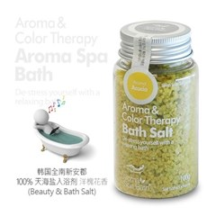 Aroma Spa Bath 국산 천일염 입욕제 100g_아카시아향