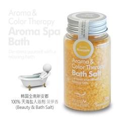 Aroma Spa Bath 국산 천일염 입욕제 100g_파인애플향