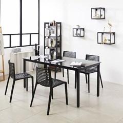 K33 스틸 1500 테이블 의자 세트_(1567346)