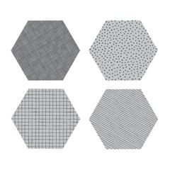 폴리곤 코스터 콘크리트 (4개세트) - Polygon Coaster Concrete