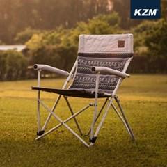 카즈미 챔퍼 체어 K8T3C002 / 감성 캠핑의자 낚시의자 릴렉스체어