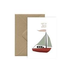 미슈카스 디자인 카드 - [Michoucas Design] Sail away