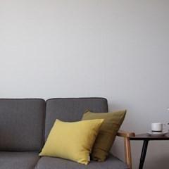 주조밍 워싱라미100% 쿠션커버45x45, 50x35 yellow series