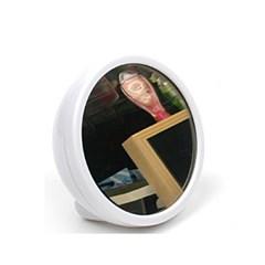 스파이미러 원형 디지털 거울 시계