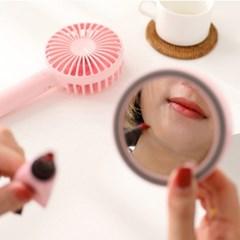 엘바 ELVA 휴대용 탁상용 미니 거울 선풍기  MF02