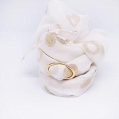 gold ring silk scarf _onyou
