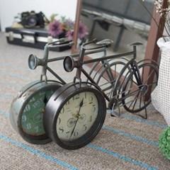 빈티지 자전거 탁상시계(2color)_(1206163)