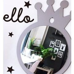 프린세스 왕관 거울(2색) / 키즈룸 아크릴 안전거울