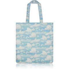 nother Blue Sky Flat Tote Bag