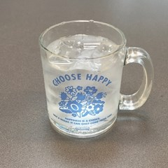 choose happy glasscup