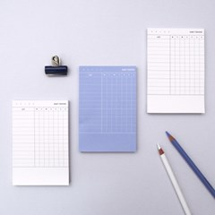 PLAN MEMO PAD_HABIT