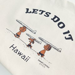 [하늘바라기]하와이안 퍼피 에코백