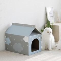 캣스크래처하우스 (그레이/핑크/블루)
