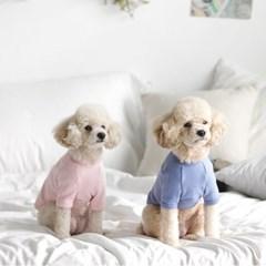 베이직플러스티셔츠 (핑크/그레이/블루)