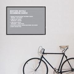 A2 그레이 레터보드 DIY 세트 - 블랙Frame(알파벳284개포함)