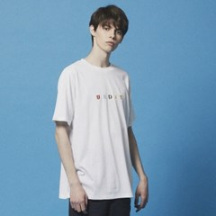 UBDTY color logo TEE_DT201 White