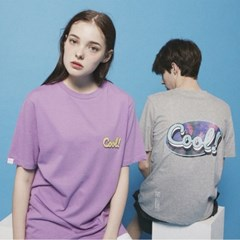 Cool Vibes logo TEE_DT209 Gray