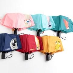 [더로라]디즈니 3단완전자동 우산-주토피아 E811