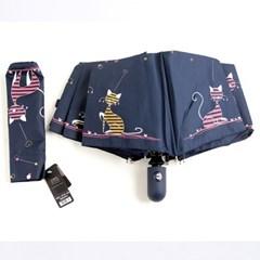 [더로라]3단자동우산-드림고양이 E810