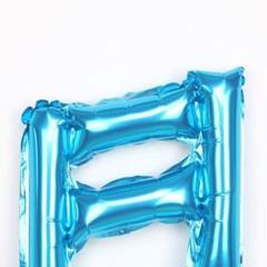 은박 16분음표풍선(블루)