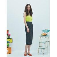 Dot Pencil Skirt(3color)