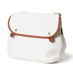 Brady Bags AVON Cross Bag White/Brown