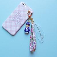 토이 키링-레이스 깃털(전통혼례 신랑)