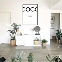 COCO simple - 홈데코 사진포스터