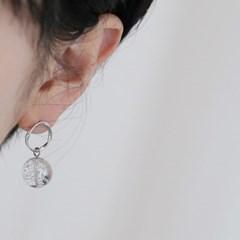 glitter ball earrings (2colors)