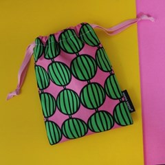 new watermelon string pouch_s