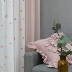 여우 화이트&핑크
