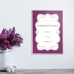 unforgettable_color - A2,A3,A4 인테리어 메탈액자