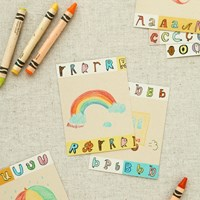 jam jam alphabet PAPER TAPE (A~N)