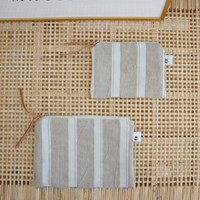 bold stripe pouch _ 2 size