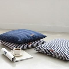풍기인견 스칸디콜렉션 여름 쿨방석 50x50 (솜포함)