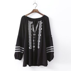 Jones Tassel Blouse