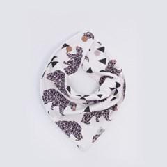 [율그란] 사계절 오가닉 스카프빕 3컬러